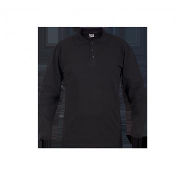 Polo Yaka T-Shirt Uzun Kol